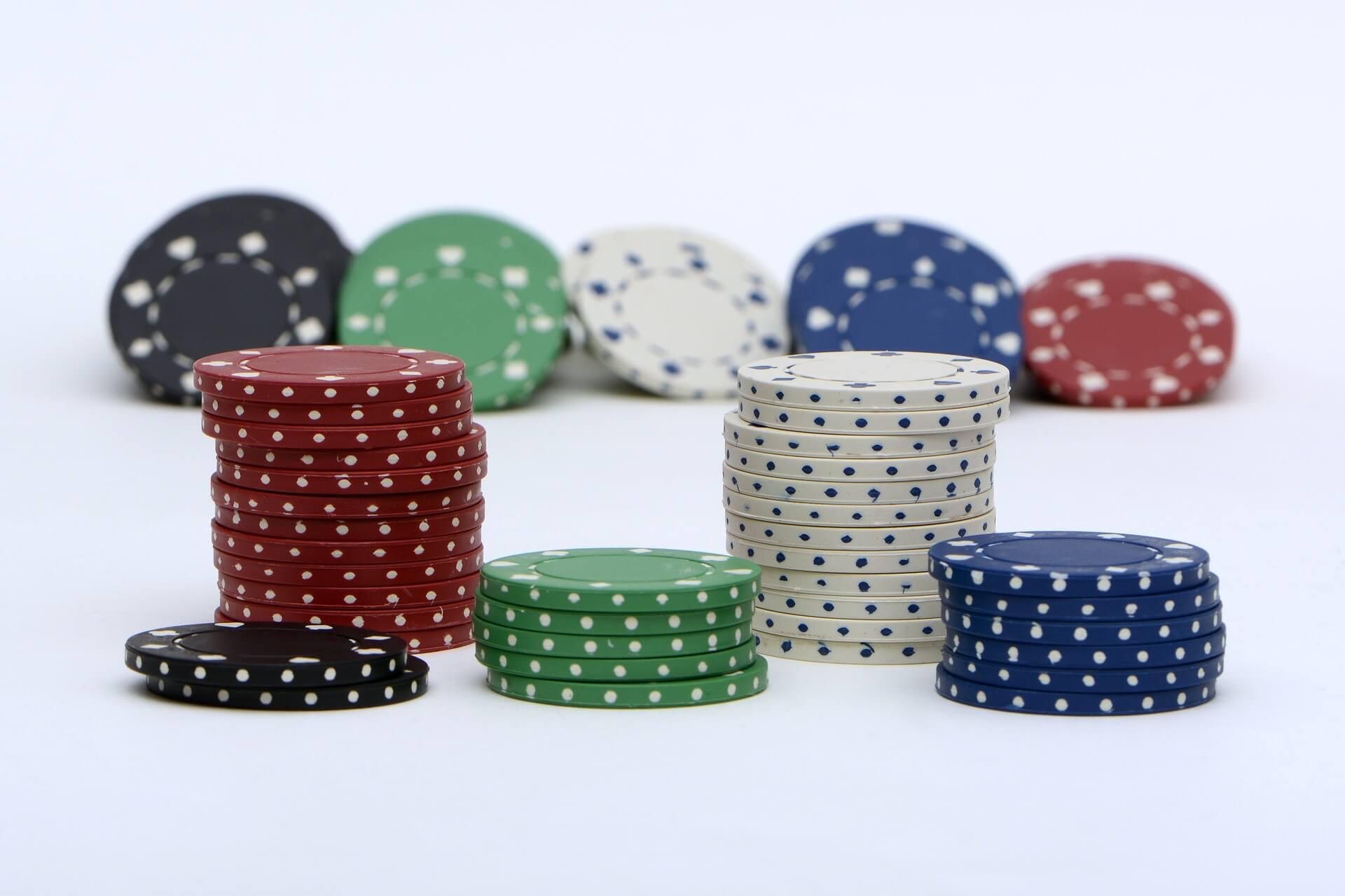 distribution de jeton poker